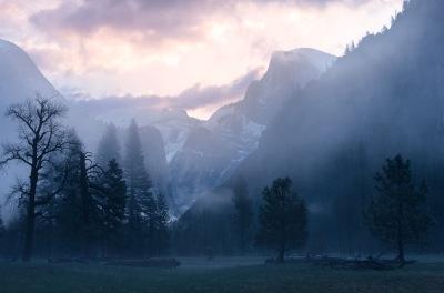 Half Dome. Yosemite Valley, Yosemite National Park, CA