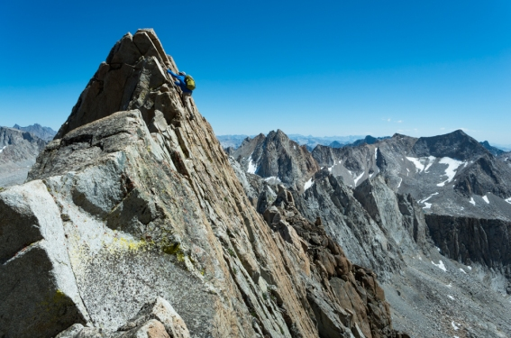 Croft's Golden Triangle, Evolution Traverse, Evolution Basin. Inyo County, CA