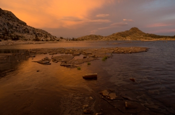 Lake Aloha. Desolation Wilderness, Eldorado County, CA